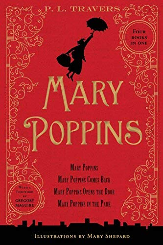 BY Travers, P L ( Author ) [ MARY POPPINS: 80TH ANNIVERSARY COLLECTION ] Oct-2014 [ Hardcover ]