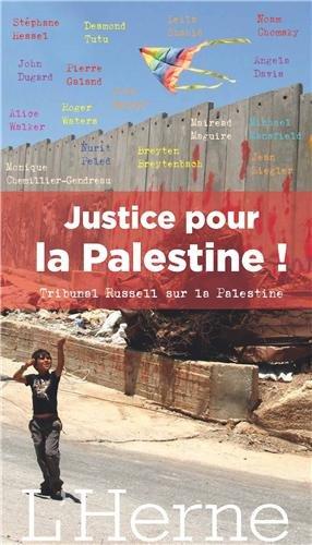 Justice pour la Palestine, le tribunal Russel pour la Palestine