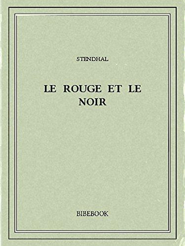 Couverture du livre Le rouge et le noir