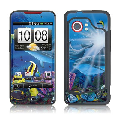 mygift-ocean-friends-protective-skin-decal-sticker-for-htc-droid-incredible-verizon-cell-phone