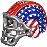 Inflable EE.UU. casco de fútbol americano - Equipo adulto accesorio del vestido