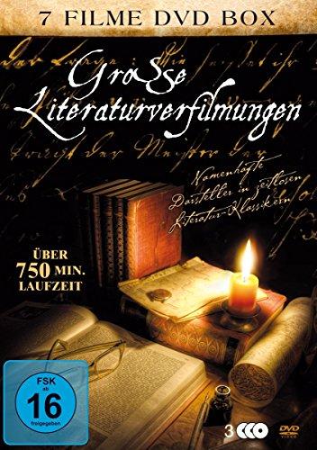 Große Literaturverfilmungen (7 Filme auf 3 DVDs)