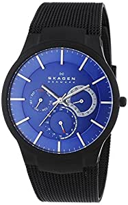 Skagen End-of-Season Titanium Analog Blue Dial Men's Watch - 809XLTBN