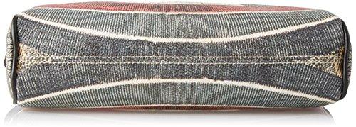 Gattinoni Gplb032, Borsa a Tracolla Donna, 6x15x25 cm (W x H x L) Multicolore (Classico)