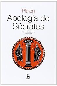 Apología de Sócrates par Platón
