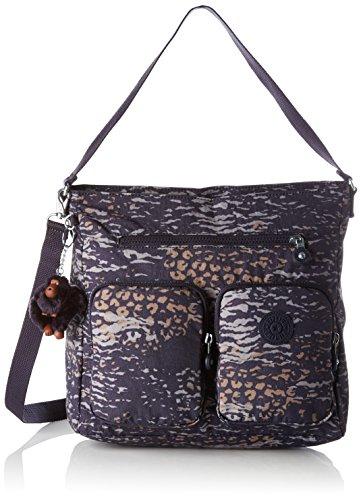 Kipling Tasmo, Women's Shoulder Bag, Mehrfarbig (Water Camo), 31x29x14 cm (B x H T)