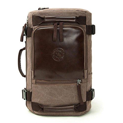 SZH&BEIB Fashion Canvas Rucksack Unisex Outdoor-Reisen Gelegenheits Daypack für Schule oder Arbeit Laptop-Tasche B