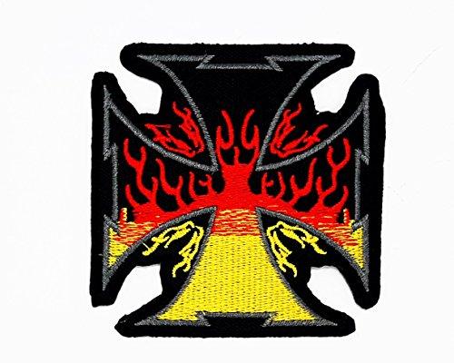 rabana-/-Fahrer, Biker, Motorrad, zum Basteln, zum, Kostüm T-Shirt PATCH Sew Iron on Embroidered Sign ()