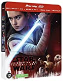 Star Wars : Les Derniers Jedi - Steelbook Blu-ray 3D + Blu-ray 2D + Blu-ray Bonus [Combo Blu-ray 3D + Blu-ray + Blu-ray Bonus - �dition limitée boîtier SteelBook]