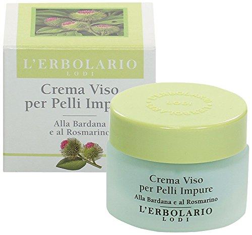 L'Erbolario Creme mit Klette und Rosmarin für unreine Haut, 1er Pack (1 x 30 ml)