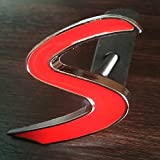 Hmocnv Mini Auto Anteriore Griglia Stemma MINI COOPER S Logo Jcw Auto Griglia Cappuccio Distintivo Decalcomania Emblema