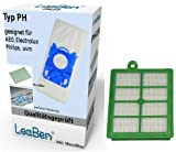 10 Sacs d'aspirateur + Filtre HEPA AEG-Electrolux Ergospace ZE 335 B #ph10_efh12