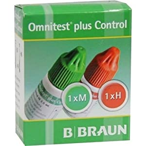 Omnitest Plus Control Lös 2X3 ml