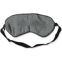 Sleep Eye Mask Cowhide Decorative Pattern Lightweight Soft Blindfold Adjustable Head Strap Eyeshade Travel Eyepatch preisvergleich bei billige-tabletten.eu