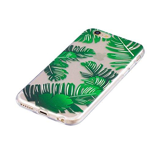 """Hülle für Apple iPhone 6S / 6 , IJIA Transparente Pizza Hamburger Fries TPU Weich Silikon Stoßkasten Cover Handyhülle Schutzhülle Handytasche Schale Case Tasche für Apple iPhone 6S / 6 (4.7"""") LF3"""