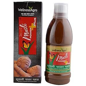 Wellness Agro Musli Power Plus Organic Health Supplement 500 ml