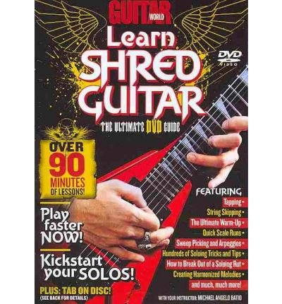 arn Shred Guitar: The Ultimate DVD Guide, DVD)] [ By (author) Alfred Publishing ] [January, 2009] (Learn Shred Guitar)