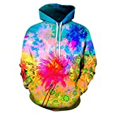 AASSDD Bunte Spritzlack 3D Sweatshirt Männer Frauen Hoodies Qualität Pullover Trainingsanzüge Mode Lässige Jacke Mantel