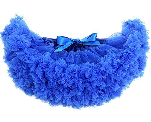 s Schminktisch Märchen Prinzessin Party Tutu Unterkleid Rock, Königsblau, One Size (Diy Halloween-kostüme Mime)
