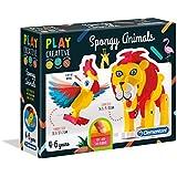 Clementoni 15271 Clementoni-15271-Play Creative-Savana Soft Animals, Multi-Colour