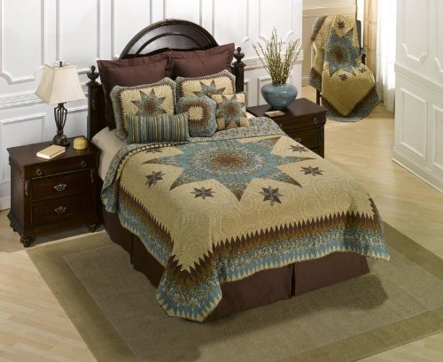 donna-sharp-sea-breeze-star-100-percent-cotton-twin-quilt