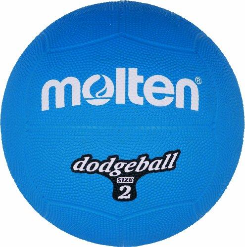 Molten Ball Dodgeball Blau, Blau, 310 g, Durchmesser: 200mm, DB2-B (Durchmesser-gummi-ball)