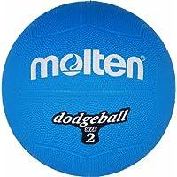 Molten Ball Dodgeball Blau, Blau, 310 g, Durchmesser: 200mm, DB2-B