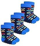 Ewers 3er Pack Babystoppersocken Sparpack Stoppersocken Jungensocken ABS Socken Antirutsch Baby (EW-221041-W17-BJ0-1139-1139-1139-18/19) in Navy-Navy-Navy, Größe 18/19 inkl. EveryKid-Fashionguide