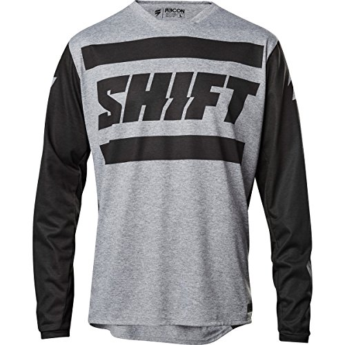 Shift Brustpanzer R3Con Drift Strike Jersey, Grey, Größe XXL (Fit-shift Relaxed)