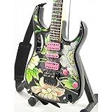 Réplica de guitarra en miniatura-minirregalo para los amantes de la música., Steve Vai