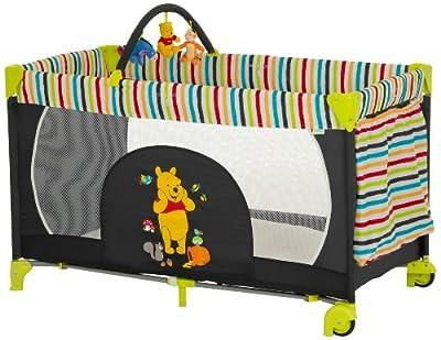 Hauck Dream'n Play Go - Cuna de viaje, diseño Pooh tidy time