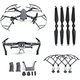 Iusun 2 Pair Folding Propellers + 1 Set Propeller Protector + 1 Set Landing Gear + 1 Set Protection Pad For DJI Mavic Pro