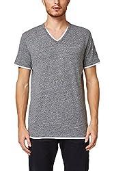 ESPRIT Herren 998EE2K815 T-Shirt, Grau (Grey 030), XX-Large