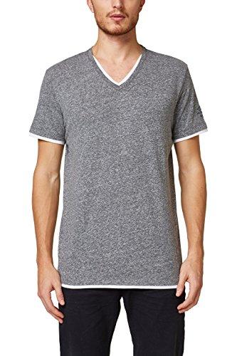 ESPRIT Herren 998EE2K815 T-Shirt, Grau (Grey 030), XX-Large -