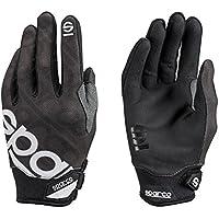 Sparco 002093NR3L Handschuhe, Meca 3, Größe L, Schwarz