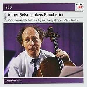 Boccherini : Concertos pour violoncelle, symphonies et pièces pour violoncelle seul (Coffret 5 CD)