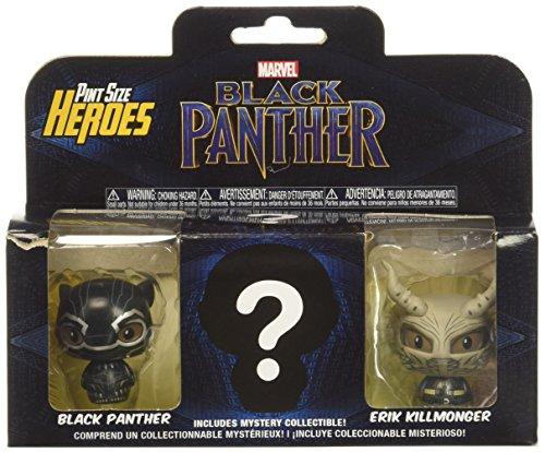 Pack 3 Figuras Pint Size Marvel Black Panther