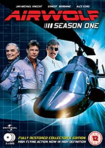 Airwolf - Complete Season 1 (3 Disc Box Set) [DVD]