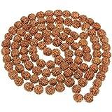 Natural 5 face Rudraksha mala 9.00 mm 108 beads for jaap purpose (Lab Certified). Natural 5 face Rudraksh beads/ Natural five face rudraksh mala (Jaap) 108 beads / 5 mukhi rudraksh / 100% Energised - Trusted seller on Amazon / Natural 5 mukhi rudraksh / original 5 face rudraksha bead / 100% energised rudraksh / original rudraksh / himalaya rudraksh / Java Rudraksh / certified rudraksh