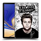 Head Case Designs Offizielle 5 Seconds of Summer Vandale Luke Solo Ruckseite Hülle für Samsung Galaxy Tab S4 10.5 (2018)