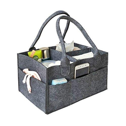 Baby Windel Organizer Tasche, vancore Filz Kinderzimmer Aufbewahrungstasche Windel Caddy, Spielzeug Aufbewahrung Bin, tolles Mommy Helfer