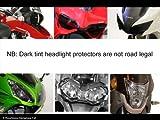 Kawasaki er6-n 09–11/Light Tint–Scheinwerfer Bildschirmschutzfolien