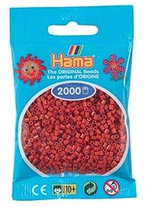 Desconocido Hama Perlen 501-20 - Mini Perlas Marrones, 2000 Piezas Importado de Alemania