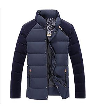 MHGAO Nuevo para la camisa de otoño / invierno de los hombres de Down Jacket , black ash , xxxl
