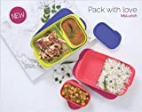 #10: Tupperware iLiv Enterprices Mylunch Tiffin (Green) 1 PC