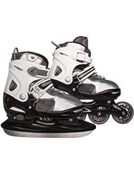 Ultrasport patins à glace et rollers 2 en 1 taille réglable