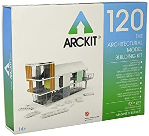 Arckit 120 Architectural Kit Edificio Modelo, Escala 1:50 / 1:48 Construction Set