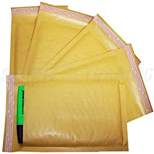 Padded Envelopes 300 Bubble Lined WHITE A7 Jewellery 90X145mm STG 1 Bubble Mailer Cheap!