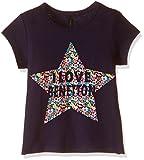 #9: United Colors of Benetton Baby Girls' T-Shirt (16A3094C12AEIK251Y_Royal Blue_1Y)