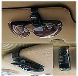 Letrino™ KFZ Auto Brillen Halter Sonnebrillen Etui Sonnenblenen Clip Clip Halter für KFZ